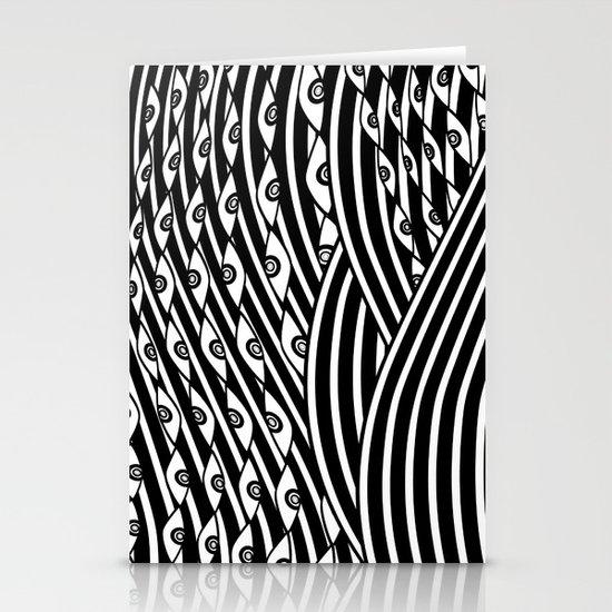 """""""Amok"""" by Drew Litowitz Stationery Card"""