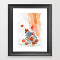 mad me Framed Art Print