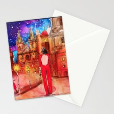 Meet Me In Prague Stationery Cards