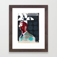 INTO THE DAZZLE Framed Art Print