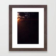 Break of Day No. 2 Framed Art Print