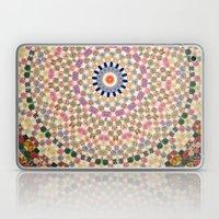 Vintage Textile YoYo Qui… Laptop & iPad Skin