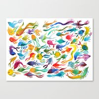 Fishes Canvas Print