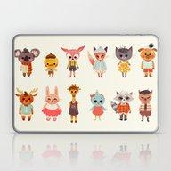Laptop & iPad Skin featuring Animal Fashion by Anoosha Syed