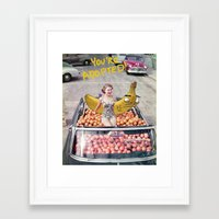 You're Adopted! Framed Art Print
