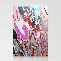 graffiti3 Stationery Cards
