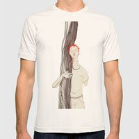 Joe Mens Fitted Tee Natural SMALL