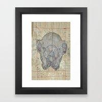 Mind Over Matter B Framed Art Print