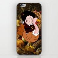Thanksgiving Turkeys iPhone & iPod Skin