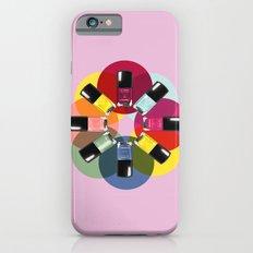 Designer Nail Polish Print iPhone 6s Slim Case