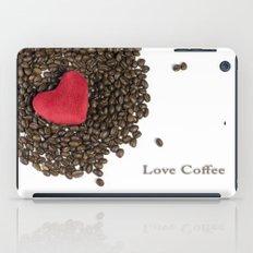Love Coffee iPad Case