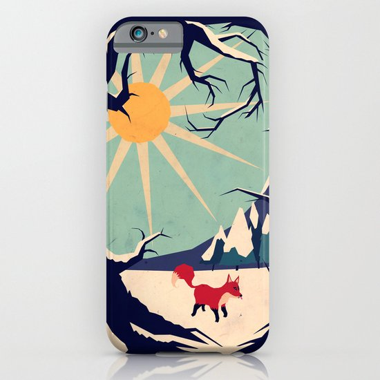 Fox roaming around II iPhone & iPod Case
