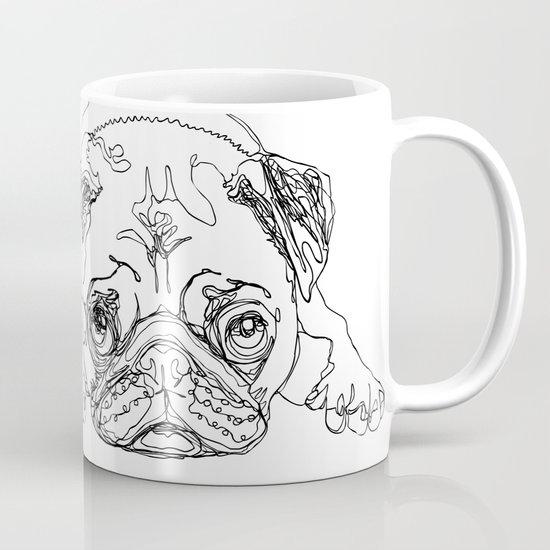 Lazy Pugturday Mug
