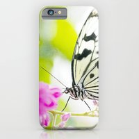 iPhone & iPod Case featuring White Butterfly by The ShutterbugEye