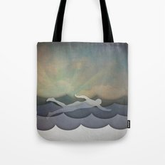 The Swimmer Tote Bag