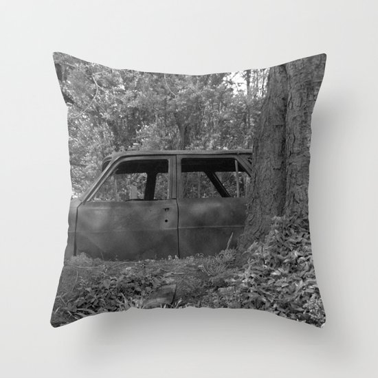 Back to start Throw Pillow