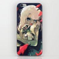 Sirene d'eau douce a la fourchette iPhone & iPod Skin