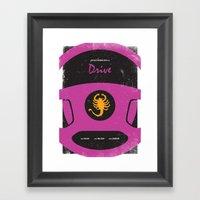 Drive Film Poster Framed Art Print