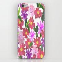 Flower Design iPhone & iPod Skin