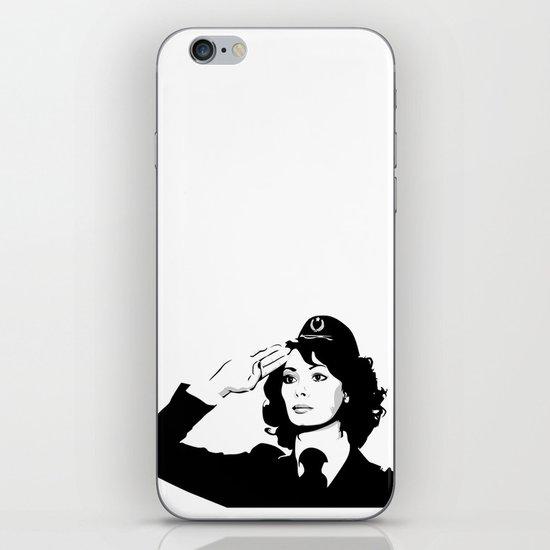 La Poliziotta iPhone & iPod Skin