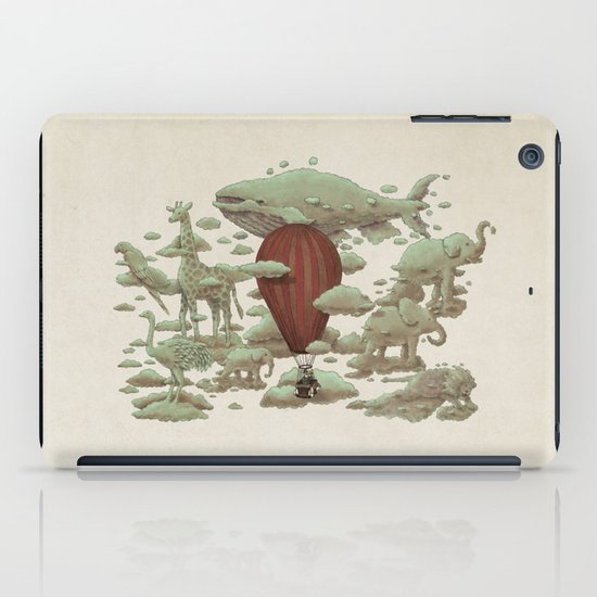 Cloud Watching iPad Case