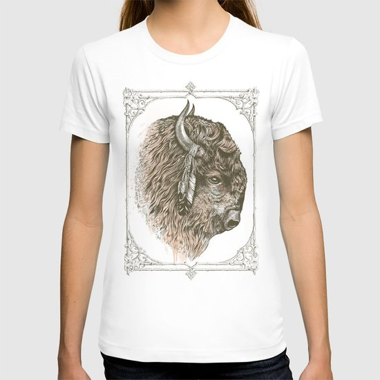 Buffalo Portrait T-shirt