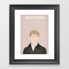 Watson - The Colleague Framed Art Print