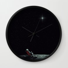 Space Chill Wall Clock