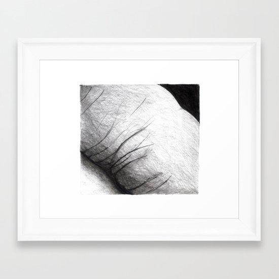 land of you Framed Art Print