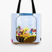 SF Sweet Jar Tote Bag