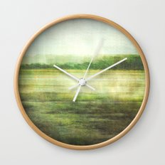 fishbourne marshes Wall Clock