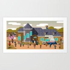 Super Arrested Development  Art Print