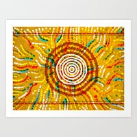Modern Aboriginal 4 Art Print