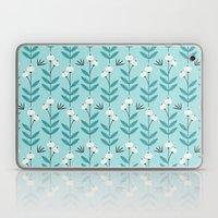 Blue Blooms Laptop & iPad Skin