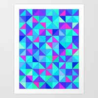 Soft Colours Art Print