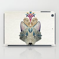 wolf and owls iPad Case