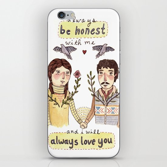 Always Be Honest iPhone & iPod Skin