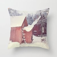 Winter Wonderland- Swede… Throw Pillow