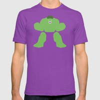 Radiology Mens Fitted Tee Ultraviolet SMALL