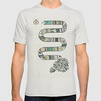 Snake fruit Mens Fitted Tee Silver SMALL