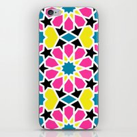 Arabesque CMYK iPhone & iPod Skin