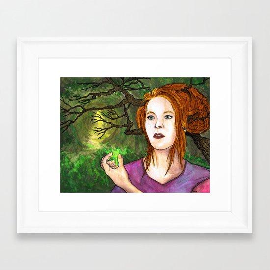 """""""Through the Woods"""" by Cap Blackard Framed Art Print"""