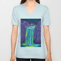 The Great Waterfall Unisex V-Neck