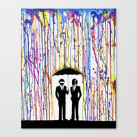 Just A Couple Of Punks..… Canvas Print