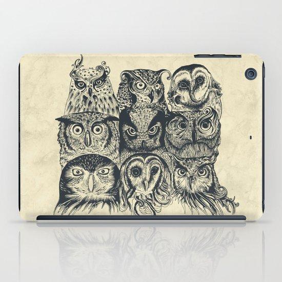 Nine Owls iPad Case