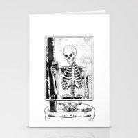 Skelfie Stationery Cards