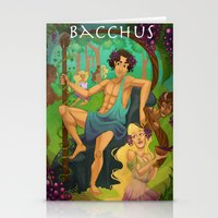 Bacchus  Stationery Cards