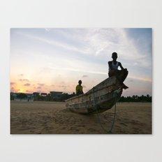 Ghanaian Sunset Canvas Print