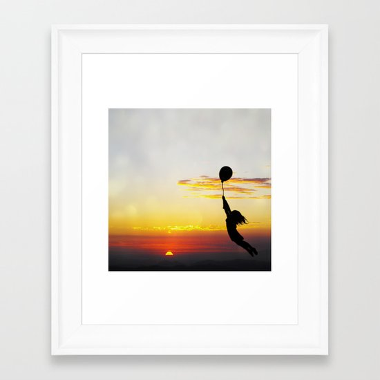 Hold Tight Framed Art Print
