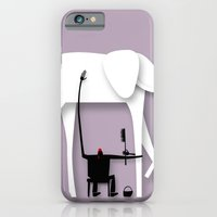Elephant's trip iPhone 6 Slim Case